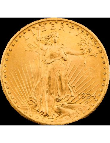 20 Dollars St Gaudens