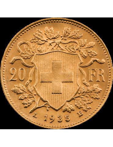 Pièce en Or de 20 Francs...